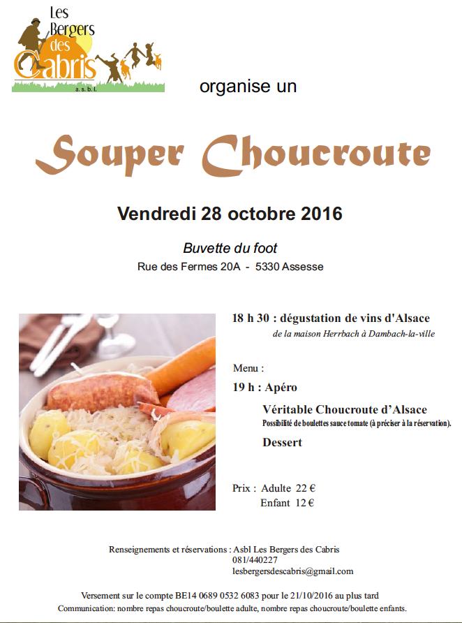 Souper choucroute 2016
